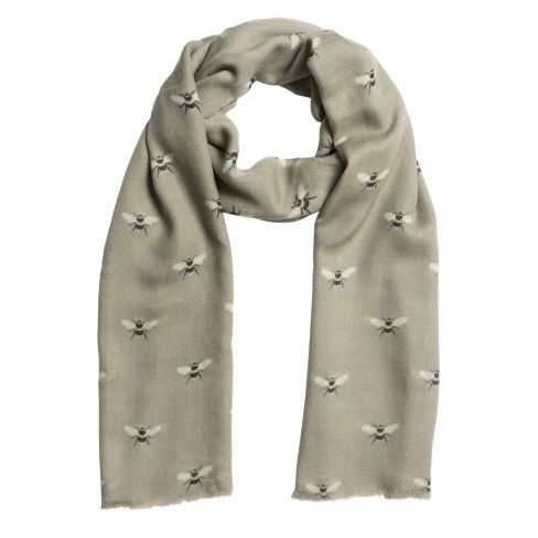 Bee Printed Scarf