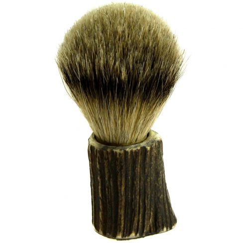 Stag Horn Badger Shaving Brush