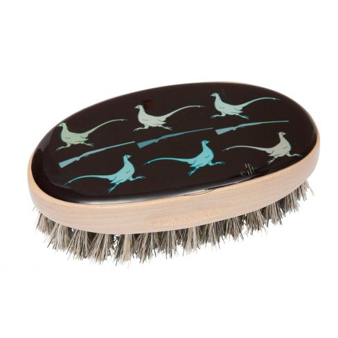 Running Pheasant Military Style Brush