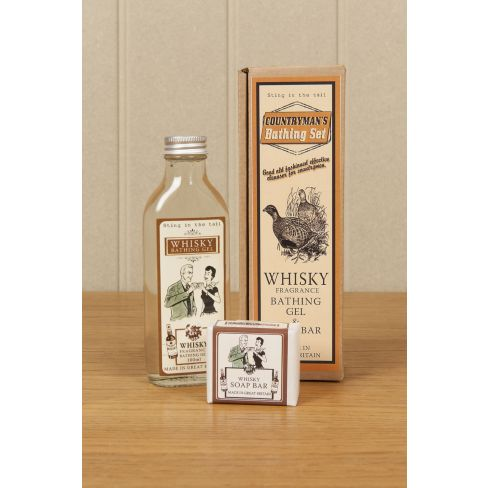 Countryman's Whisky Shower Gel and Soap