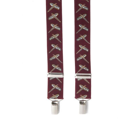 Country Style Braces - Pheasant
