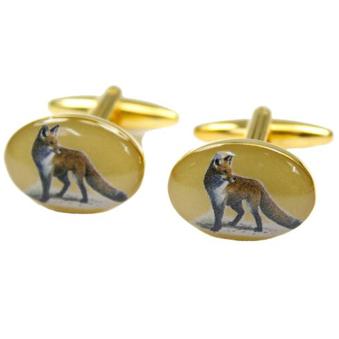 Country Cufflinks Fox