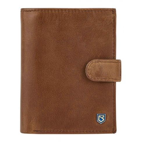 Dubarry Thurles Leather RFID Wallet Chestnut