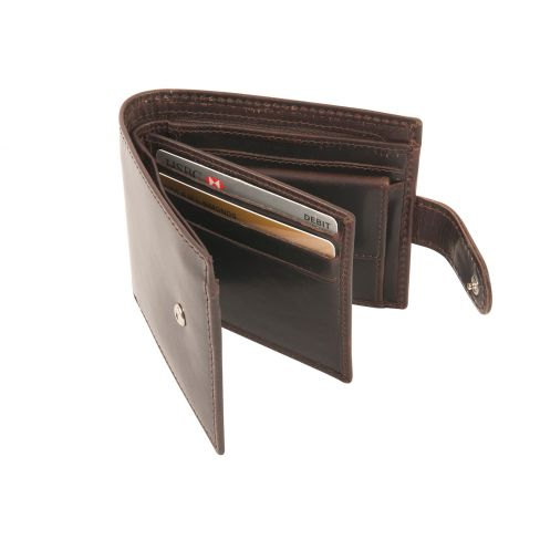 RFID Richmond Wallets Dark Havana