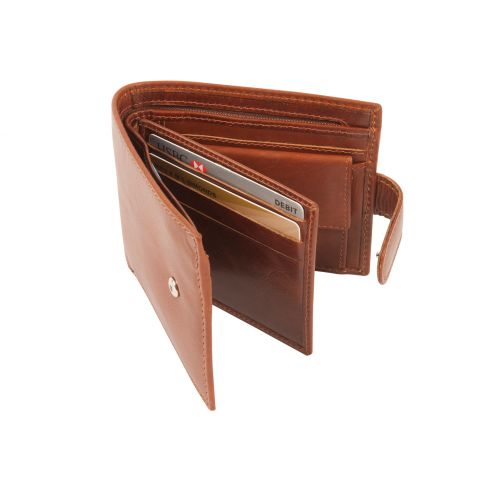 RFID Richmond Wallet Tan