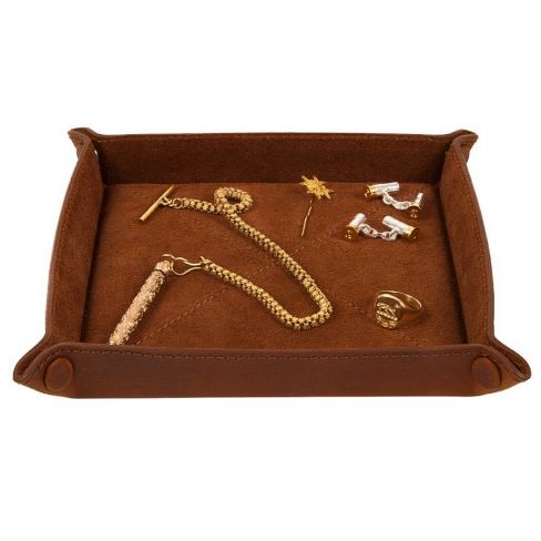 The Richmond Leather Coin Tray