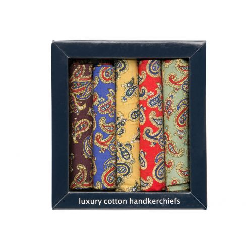 Paisley Cotton Hankies