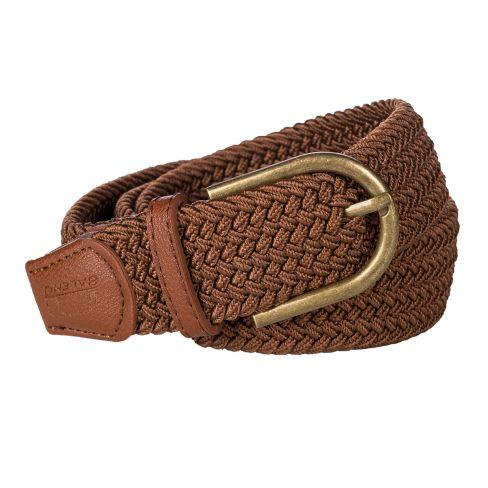 Baleno Stretch Corded Belt Cognac