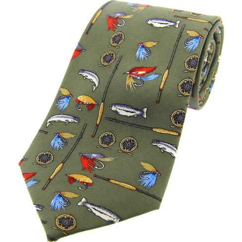 Silk Tie Fishing Tackle