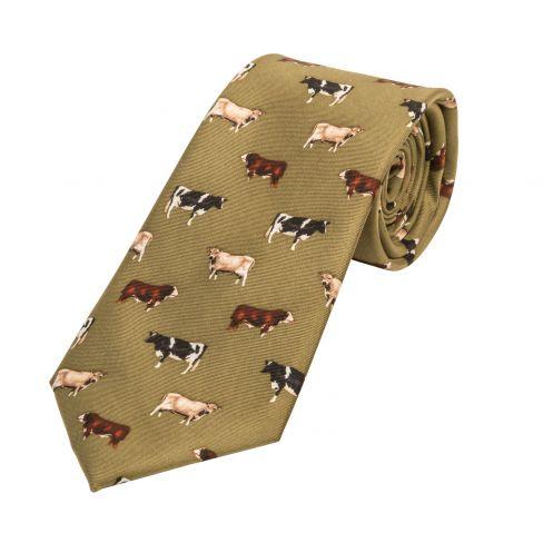 Silk Tie Cows