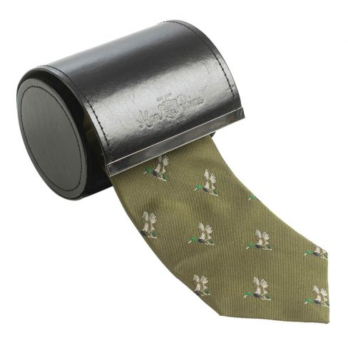 Smart Ripon Silk Ties - Duck Olive