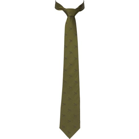 Harkila Retrieve Pheasant Silk Tie