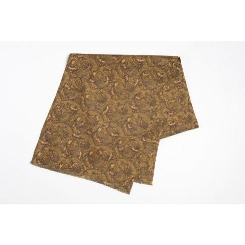 Italian Silk Colletion - Scarf - Gold