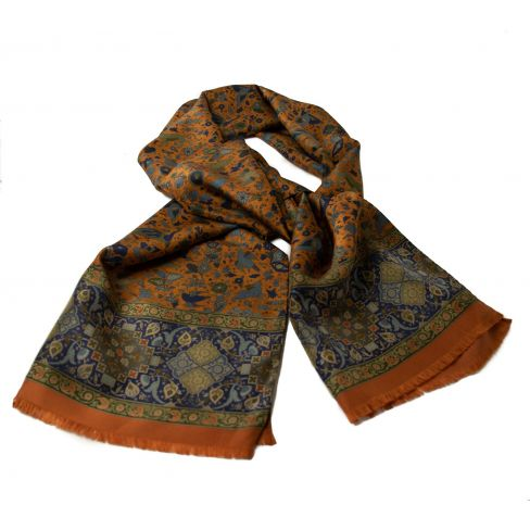 Limited Edition Milanese Design Italian Silk Scarf