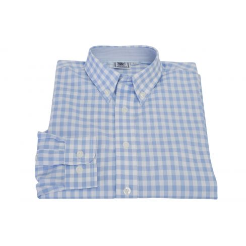 Kids Oxford Gingham Shirt
