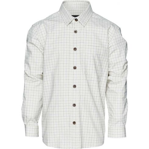 Seeland Kids Tattersall Shirt - Bitter Chocolate Check