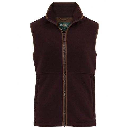 Aylsham Kids Fleece Waistcoat Grape