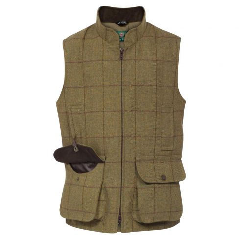 Alan Paine Kids Rutland Shooting Gilet Lichen