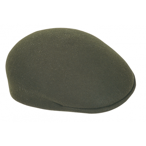 Percussion Traditional Felt Cap - Khaki