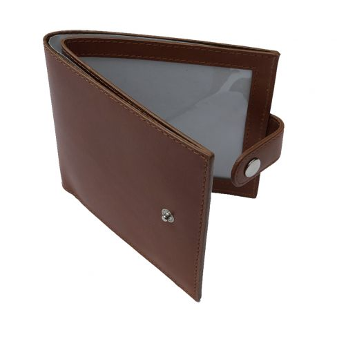BiFold English Hide Licence Holder