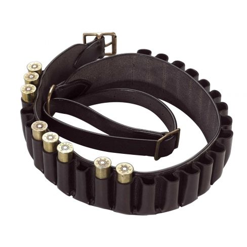 Havana Brown Closed Loop Cartridge Belt 12G