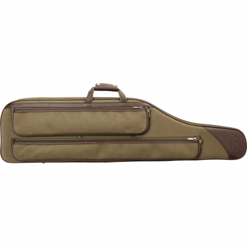 Harkila Canvas and Leather Gunslip 125 cm w/pocket
