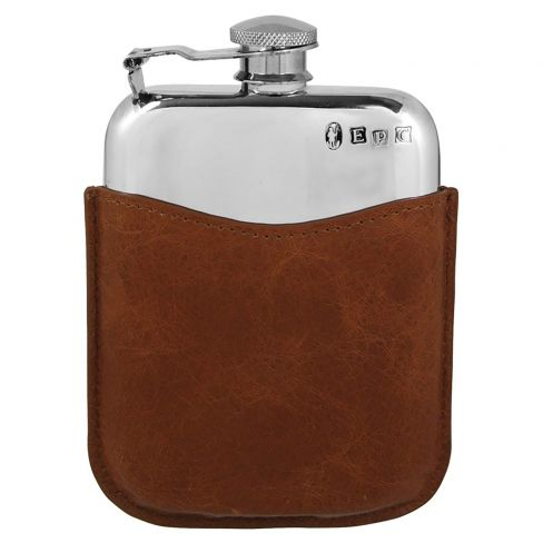Handmade Pewter Hip Flask