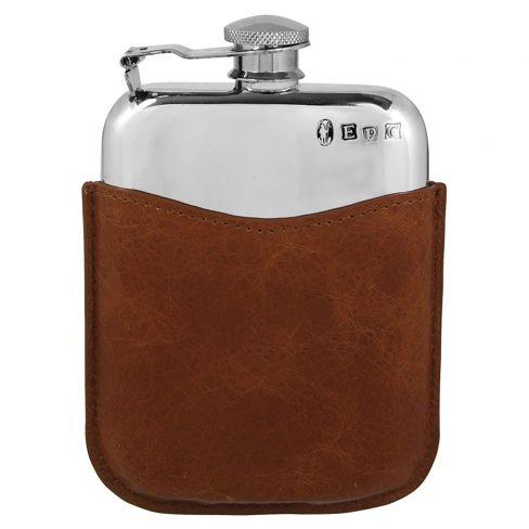 Handmade Pewter Hip Flask