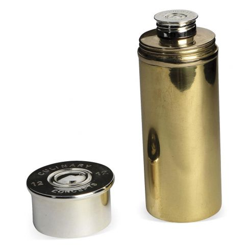 Cartridge Cylindrical Hip Flask - 4 Fluid Ounces (120 ml)