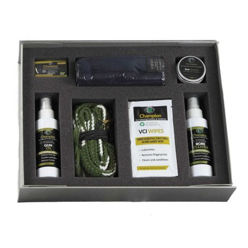Champion Shotgun/Rifle Cleaning Kit with Boresnake