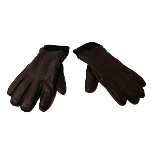 Gwen 100% Deer Skin Warm and Water resistant Fleece Lined Shooting Gloves