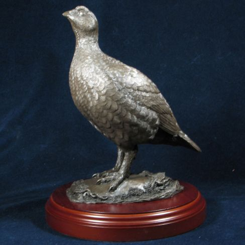 Bronzed Red Grouse