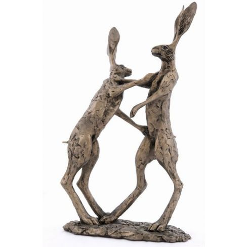 Hannah and Hamish Large Standing Hares