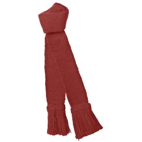 Wool Garters Ruby