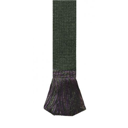 Lomond Wool Garters - Spruce Thistle