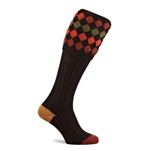 The Charlton Shooting Socks - Ebony