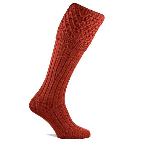 Chelsea Shooting Socks - Maple