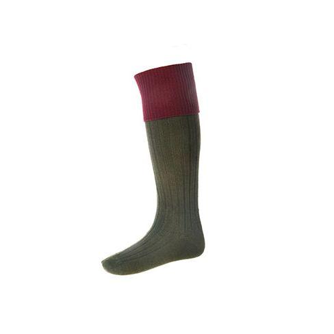 Game on Shooting Socks - Burgundy