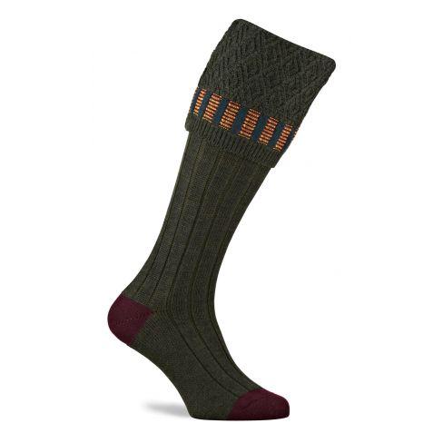 Elvedon Shooting Socks - Hunter