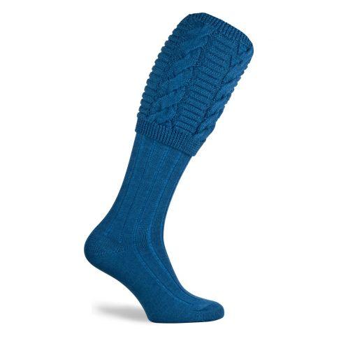 Valiant Shooting Socks Hummingbird Blue