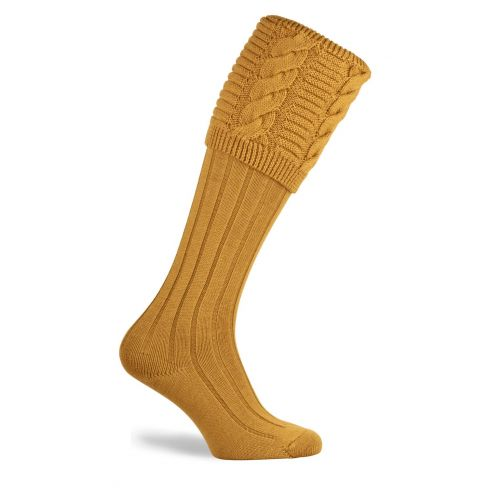 Valiant Shooting Socks Sunflower