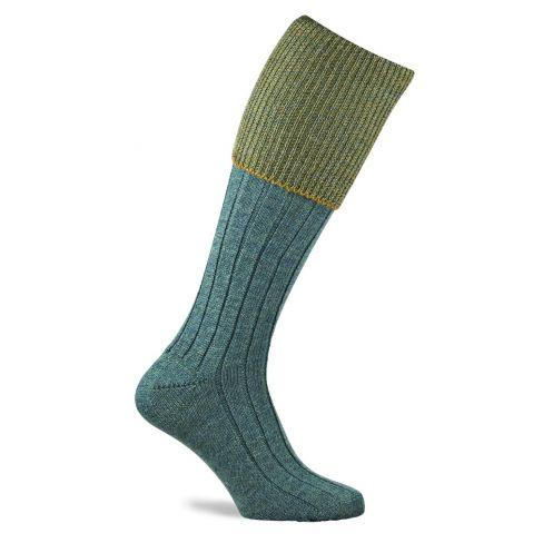 Chiltern Shooting Socks Tweed Lovat