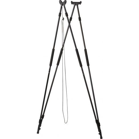 4 Legged Shooting Stick Black