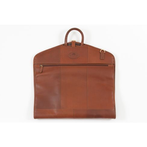 All Leather Windsor Suit Carrier