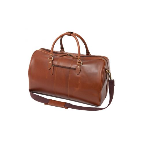 All Leather Windsor Travel Holdall