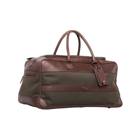 Dubarry Durrow Cordura and Leather Weekend Bag Olive