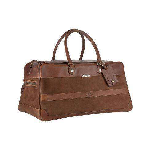 Dubarry Durrow Leather Weekend Bag Walnut