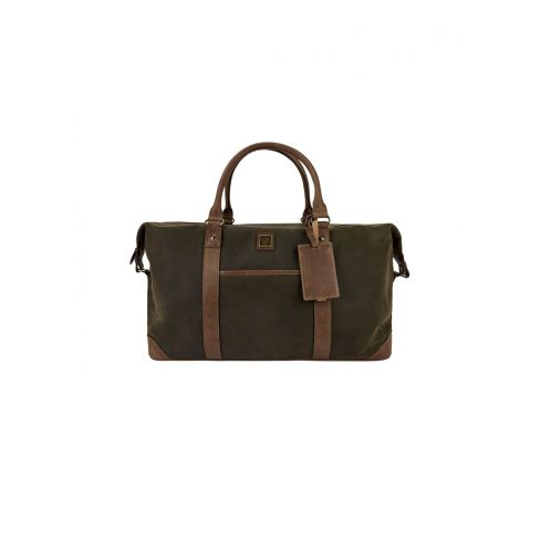 Dubarry Brittas Overnight Holdall Wax cotton and leather