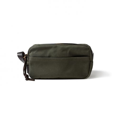 Filson Travel Kit Wash Bag - Otter Green