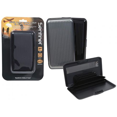 Sentinel RFID Hard Shell Case & Card Wallet